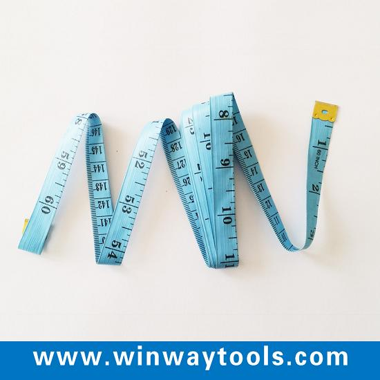 150cm 60inch Pvc Fiberglass Colth Tailors Tape Measure With Your Logo