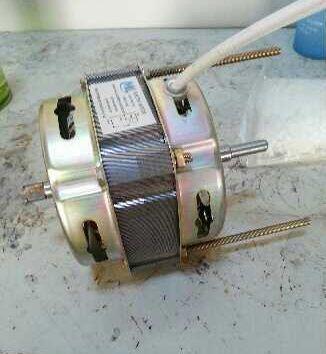 150w Butterfly Copper Wet Grinder Motor