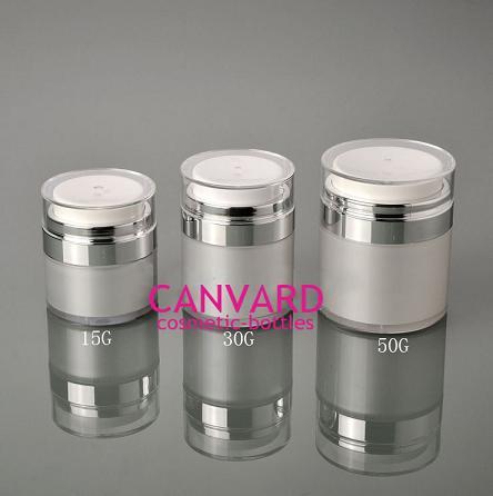 15g 30g 50g High End Airless Press Jar