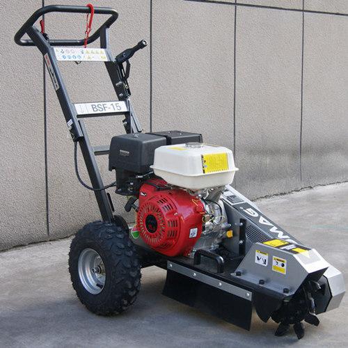 15hp Gasoline Stump Grinder With Foldable Handles