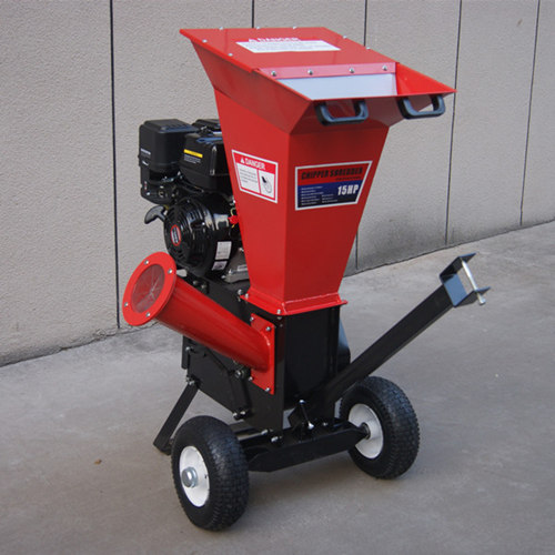 15hp Small Garden Wood Shredder Chipper With Top And Side Inlets