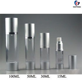 15ml 30ml 50ml 100ml Airless Pump Bottles Plastic Bottle Lotion