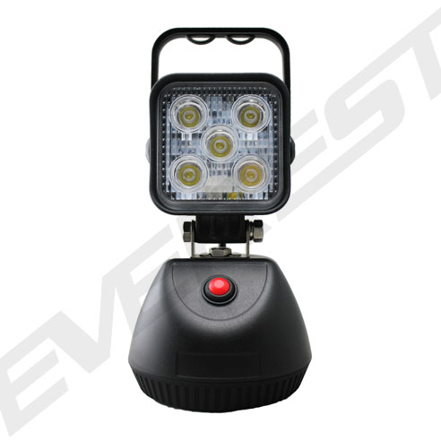 15w Rechargeable Led Work Light With Magnetic Base