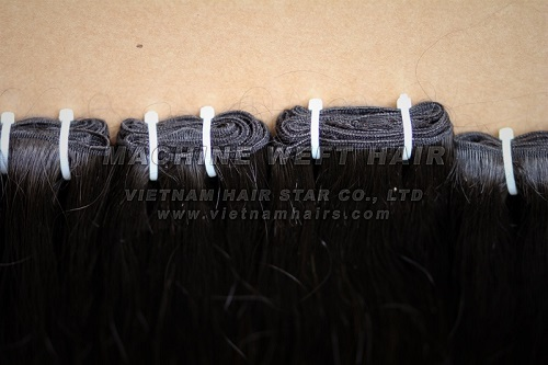16 Inches Black 100 Silky Remy Human Hair Weft