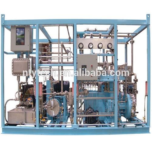 160bar Outet Pressure Chlorine Gas Diaphragm Compressor