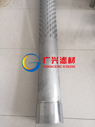 168 4mm Stainless Steel Bridge Slot Screen Length 6meters