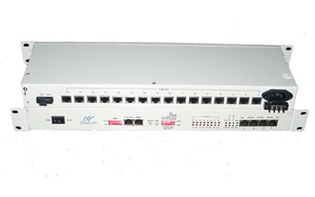 16e1 To Optical Ethernet Converter Over