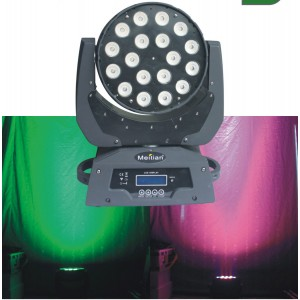 18 12w Moving Head Light High Power Led Dm 005