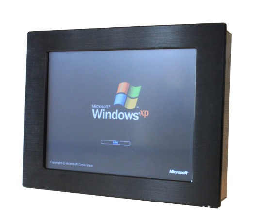 19 Inch High Performance Industrial Panel Display 1280 X 1024 Pixels With 5 Wire Touchscreen