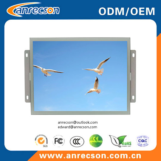 19 Inch Industrial Touch Open Frame Monitor For Atm Kiosk Game Vending Machine