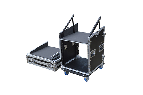 19 Inch Slant Head Rack Case For Amplifier And Mixer