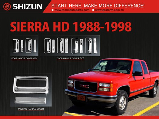 1988 1998 Gmc Sierra Heavy Duty Accessories Parts
