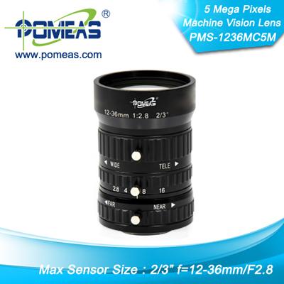 1inch 5mp Fl12 36mm Machine Vision Lens
