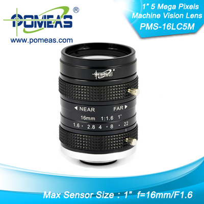 1inch 5mp Fl16mm Machine Vision Lens