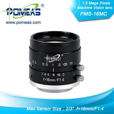 2 3inch 1 5mp Fl16 33mm Machine Vision Lens