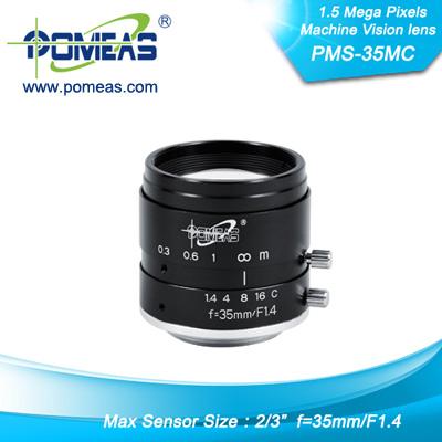 2 3inch 1 5mp Fl35mm Machine Vision Lens