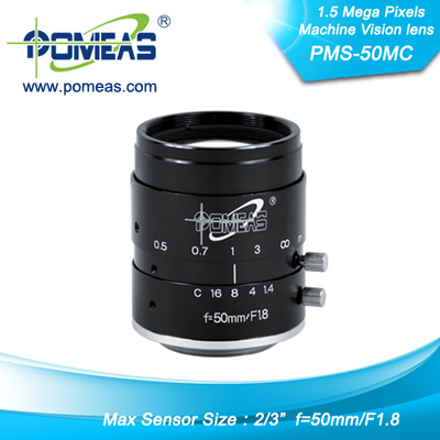 2 3inch 1 5mp Fl50mm Machine Vision Lens