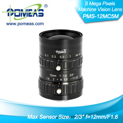 2 3inch 5mp Fl12mm Machine Vision Lens