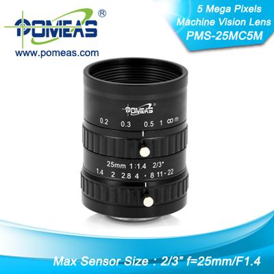 2 3inch 5mp Fl25mm Machine Vision Lens