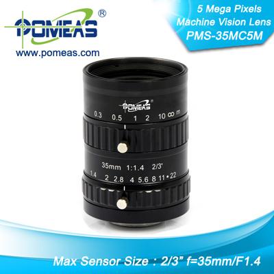 2 3inch 5mp Fl35mm Machine Vision Lens
