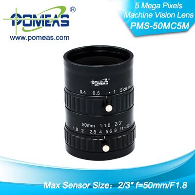 2 3inch 5mp Fl50mm Machine Vision Lens