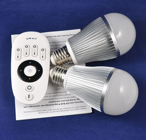 2 4g Remote Control Bulb Light With Color Temperature Adjust Intelligent Lamp