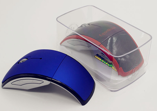 2 4g Wireless Folding Mouse With Nano Receiver