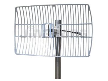 2 4ghz Parabolic Dish Antenna Gain 19dbi