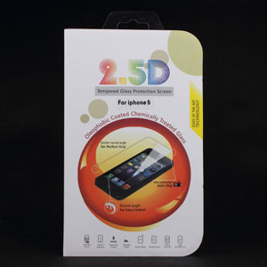 2 5d Tempered Glass Protection Screen For Iphone 5 5s