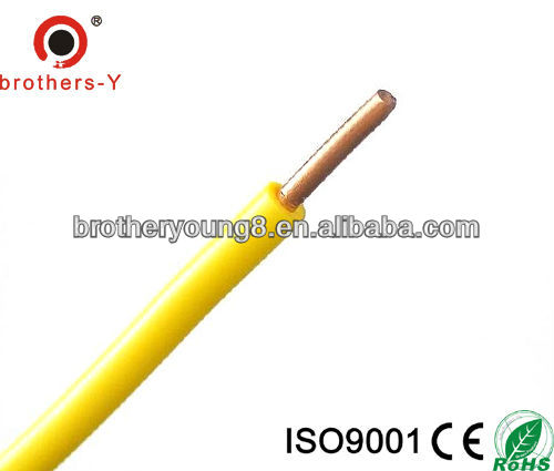 2 5mm2 Single Core Bv Cable Pvc Insulated Electric Wire Ul1007