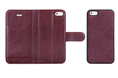 2 In 1 Combo Folio And Standing Case For Iphone 5 With Card Slot