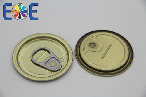 200 50mm Tinplate Meat Can Easy Open Lid Factory