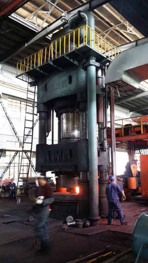 2000 Ton Used Open Die Forging Hydraulic Press