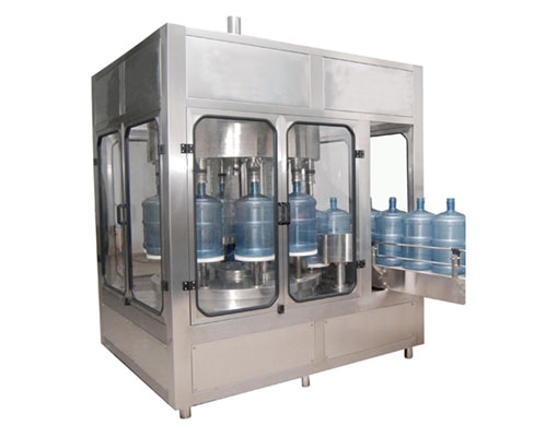 2000bph 5gallon Bottle Automatic Rotating Water Filling Bottling Machine