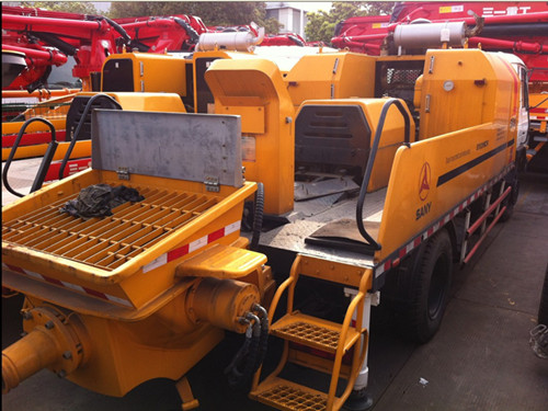 2007 Sany Transported Concrete Pump Second Hand