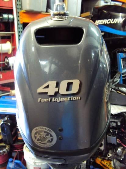 2008 Yamaha 40hp 4 Stroke Efi Outboard Motor