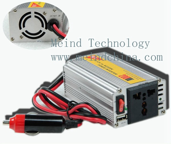 200w Power Inverter Ac Adapter Usb Car Inverters Supply Watt Charger