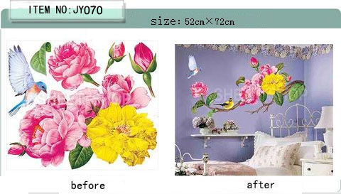 2012 Hot Sale Pvc Self Adhesive Film Wall Paper Jy070 Supply