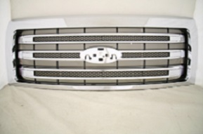 2013 Ford F 150 Chrome Grille No Emblem