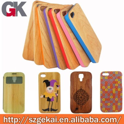 2013 Hot 100 Real Wood Mobile Phone Case For Iphone 5