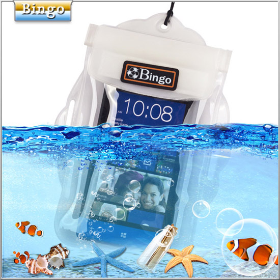 2013 Hot Selling Bingo Pvc Waterproof Arm Pouch For Mobile Phone