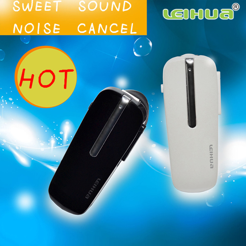 2013 Leihua Brand Fashionable Bluetooth Wireless Headset For Mobile Phones