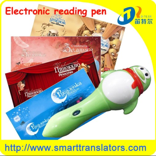 2013 Magic Electrical Speaking Pen Dc003 With Audio Learning Books