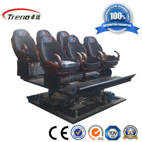 2013 New 6 Seats 6dof Hydraulic 5d Cinema System
