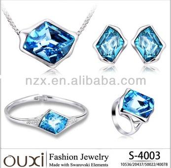 2013 Ouxi Fashion Costume Jewelry Set Made With Swarovski Elements