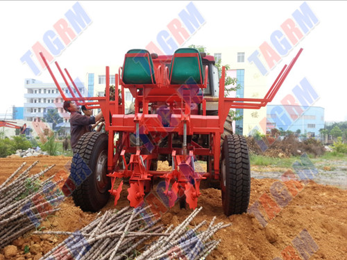 2014 2amsu Cassava Seed Planting Machine Ridging Type