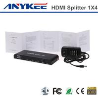 2014 Cheap 3d Hd 1080p Cec 1 4 Port 1x4 Hdmi Splitter