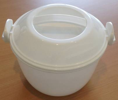 2014 Hot Sale Plastic Rice Cooker Lunch Box