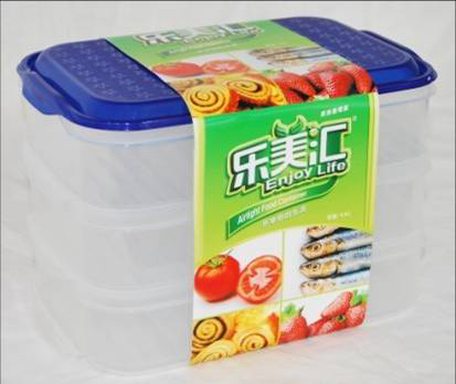 2014 Plastic Food Storage Boxs Fl02