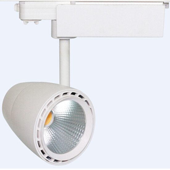 2015 Led Cob Track Light Spot 20w With White Black Silver Housing